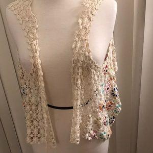 Crochete shawl/vest